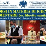 Corso in materia di igiene per gli alimenti(ex libretto sanitario)-RISCHIO B in FAD